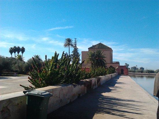 Menara Gardens and Pavilion : la menara