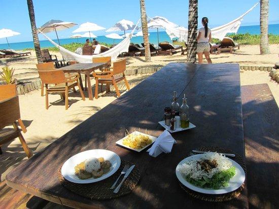 Villas de Trancoso Beach Bar & Restaurant : Villas de Trancoso