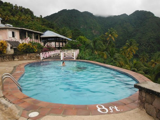 La Haut Resort: Plantation pool