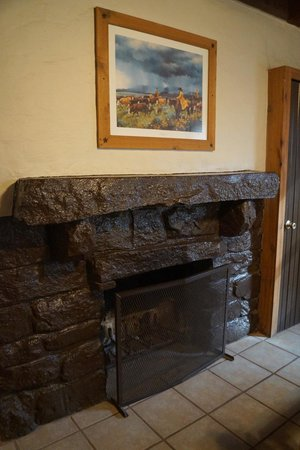 Palo Duro Canyon State Park: Fire place