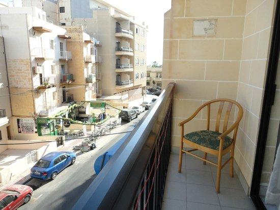 Canifor Hotel: Un lato del balcone -lato Dx-