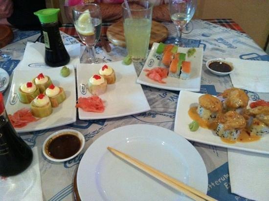 Ocean Basket: fresh sushi