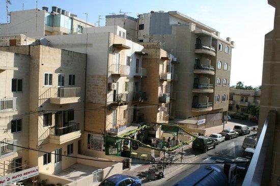 Canifor Hotel: La vista dal nostro balcone