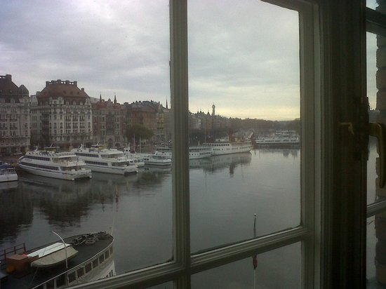 Radisson Collection Strand Hotel, Stockholm: dalla finestra