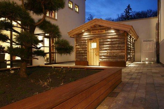kelo sauna picture of wald schlosshotel friedrichsruhe day spa zweiflingen tripadvisor. Black Bedroom Furniture Sets. Home Design Ideas