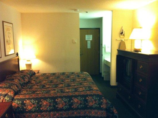 Rodeway Inn Wooster: My room...very nice