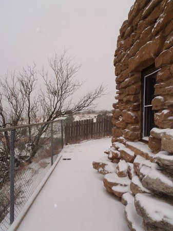 Palo Duro Canyon State Park: Snow