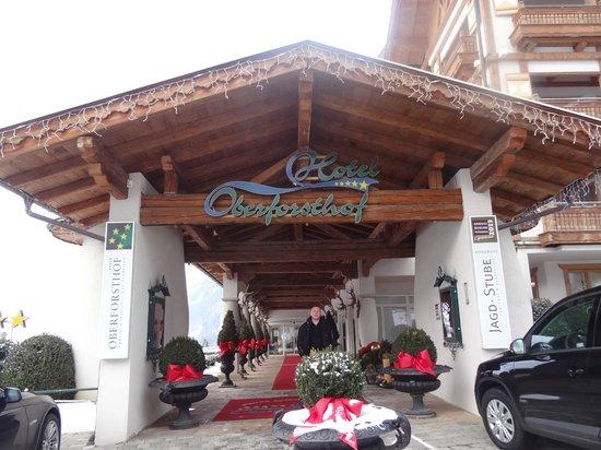 Hotel Oberforsthof: Hotel Entranec