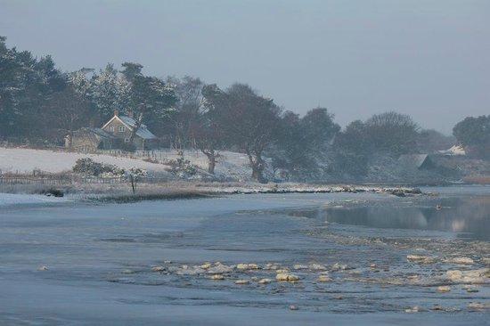 Iken Barns: Winter scenes are beautiful too
