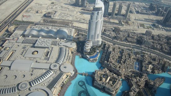 The view from the top floor - Burj Khalifa - Picture of ... Burj Khalifa From Top Floor
