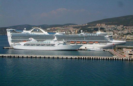 Cruise ship port of kusadasi picture of visit to ephesus selcuk tripadvisor - Ephesus turkey cruise port ...