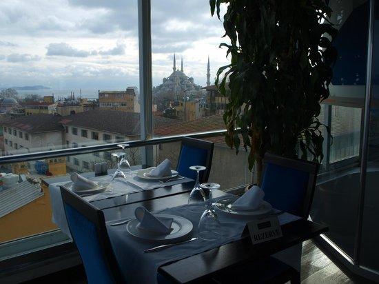 Adamar Hotel: Vistas desde el restaurante