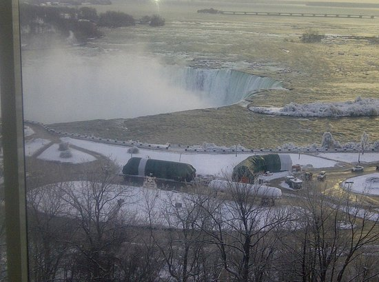 Marriott Niagara Falls Fallsview Hotel & Spa: Winter Wonderland