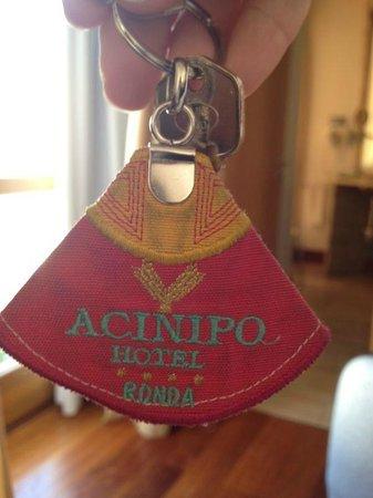 Hotel Acinipo: Llave