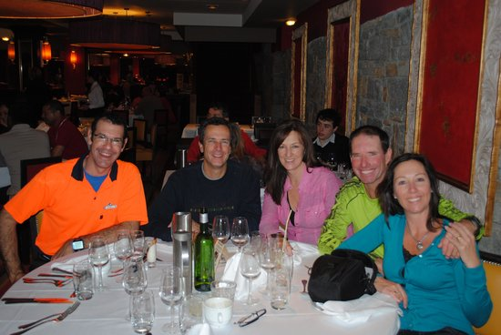 Club Med Peisey-Vallandry: Jerome the GO joined us for dinner