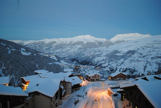 Club Med Peisey-Vallandry: Evening views from our room