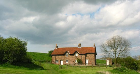 Yorkshire, UK: Deserted Cottages at Wharram Percy.