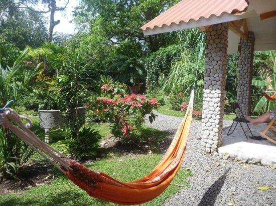 Casa Mariposa: Le jardin