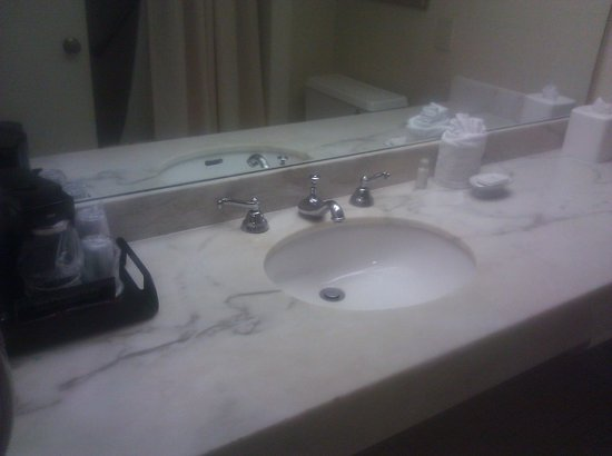 L'Enfant Plaza Hotel: Bathroom Sink