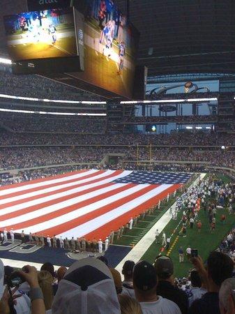 AT&T Stadium: First regular season game vs Giants