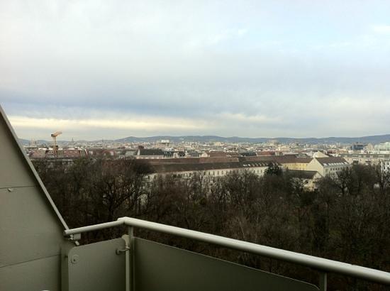 Hotel Clima City: vista dal terrazzo della camera