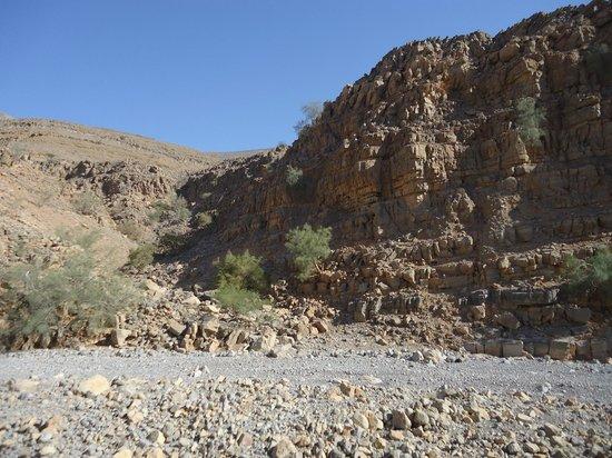 Hajjar Mountains : Steine