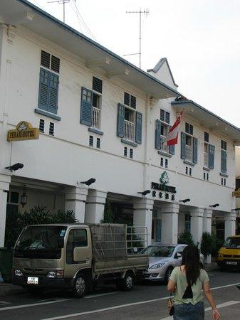 Perak Hotel: outside