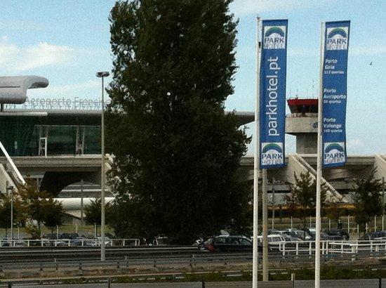 Park Hotel Porto Aeroporto Oporto Airport In Front