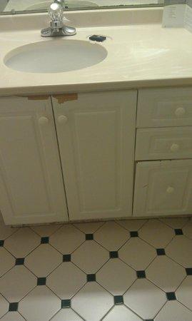 Extended Stay America - Atlanta - Perimeter - Peachtree Dunwoody: Bathroom Cabinets