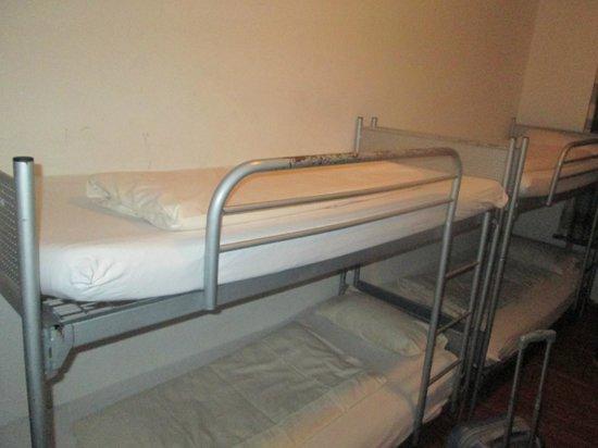 Jaeger's Hostel: letto castello