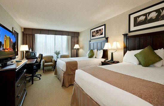 BEST WESTERN Plus Rockville Hotel & Suites: Double bedded room