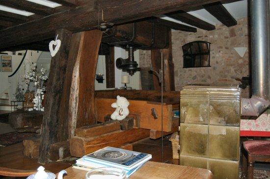 Le Bastion de Riquewihr : le pressoir (the wine press)