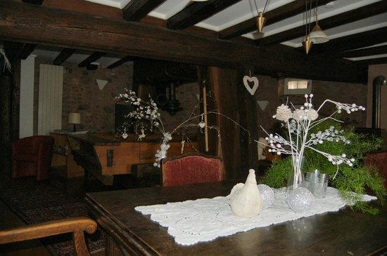 Le Bastion de Riquewihr : salle du petit-déjeuner (breakfast room)