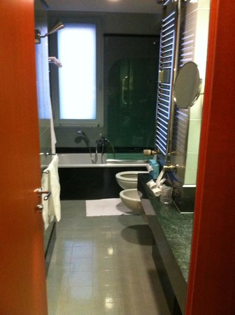 Perugia Park Hotel: Bagno 