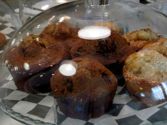 The Southern Grind Coffee House at The Wharf: Our selection of baked goods changes daily-made fresh!!