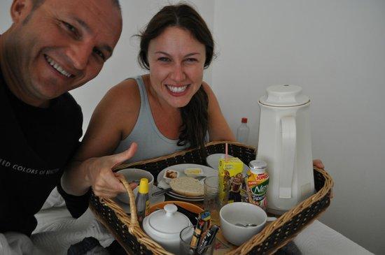 Tea Nui - Cabanas y Habitaciones: Desayuno