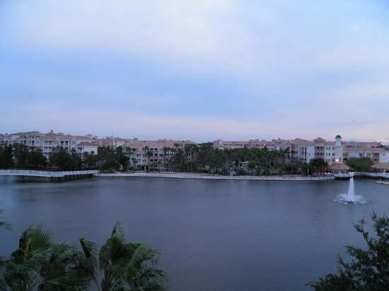 Marriott's Grande Vista: view from the room