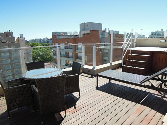 Fierro Hotel Buenos Aires: Our private terrace