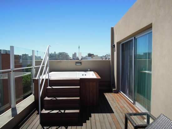 Fierro Hotel Buenos Aires : Private Jacuzzi on terrace