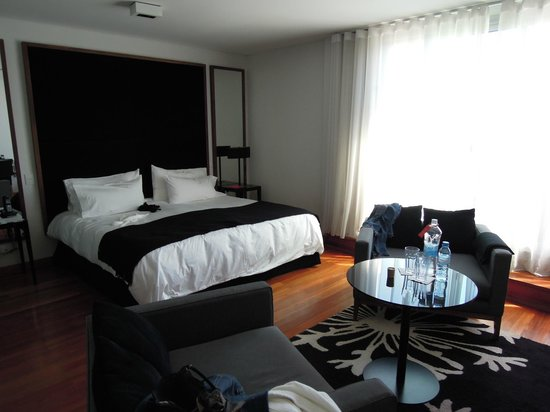Fierro Hotel Buenos Aires : Our room (terrace suite)