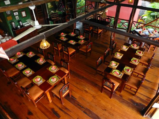 Napo Wildlife Center Ecolodge: Dining Area