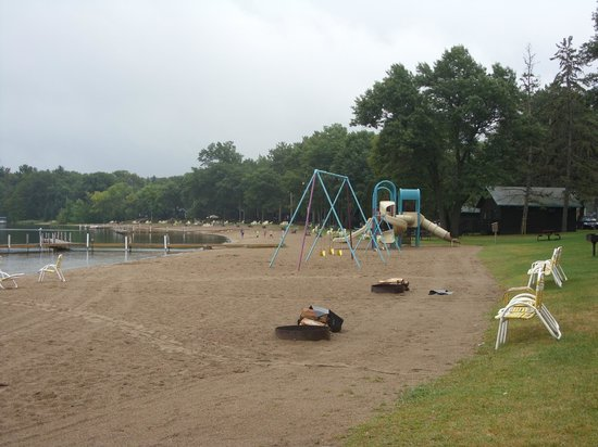 Cragun's Resort on Gull Lake: Playground on the beach