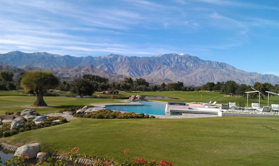 Sunnylands: Pool by guest house 