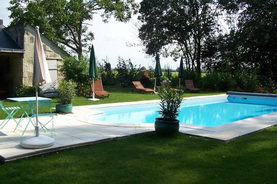 Les Peupliers: The Pool