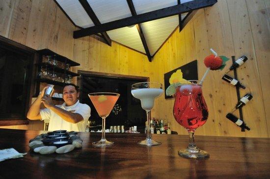 Trogon Lodge San Gerardo de Dota: Rogelio, our bar man