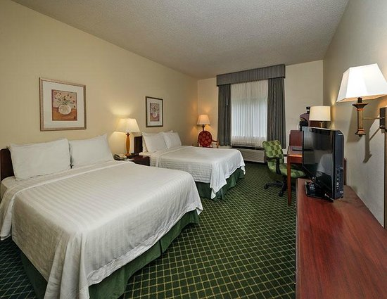 Fairfield Inn Tuscaloosa: Double/Double Guest Room