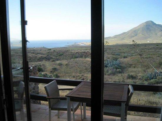 Cortijo El Paraiso: vistas desde la terracita