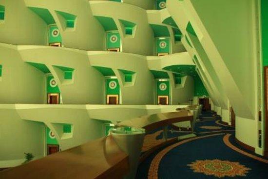 Burj Al Arab Jumeirah : Etage der Suites