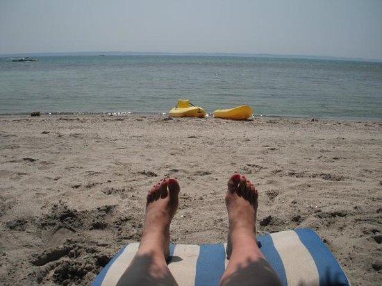 La Concha Beach Resort: Gorgeous beach with warm water!
