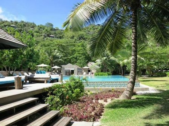 Four Seasons Resort Seychelles: Die Poolarea